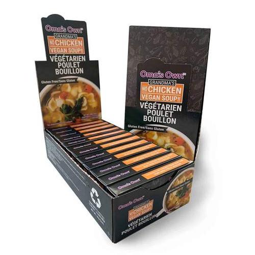 Oma's Own No Chicken Vegan Soup Bouillon Cubes