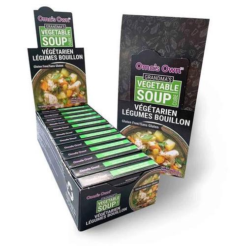 Oma's Own Vegan Vegetable Bouillon Soup Cubes