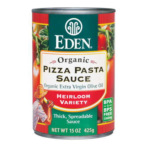 Eden Foods Gluten-Free Pizza Pasta Sauce, Canned