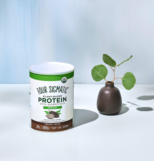 Four Sigmatic Vegan Plant Based Protein Chocolate