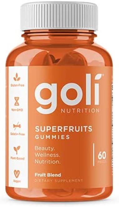 Goli Vegan Superfruits Gummies