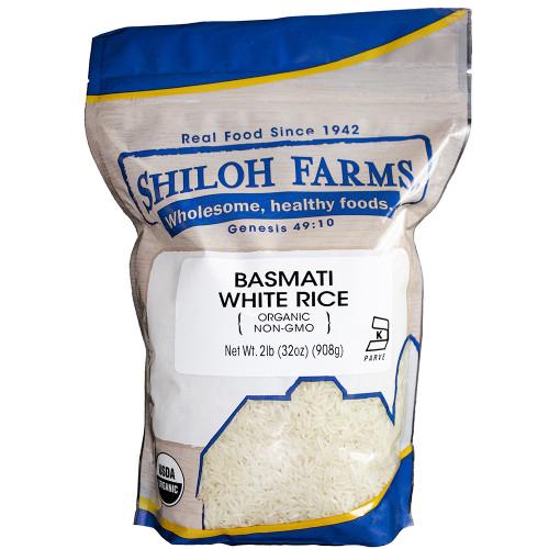 Shiloh Farms Organic Basmati Rice, White
