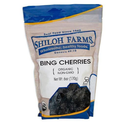Shiloh Farms Organic Bing Cherries, Pitted
