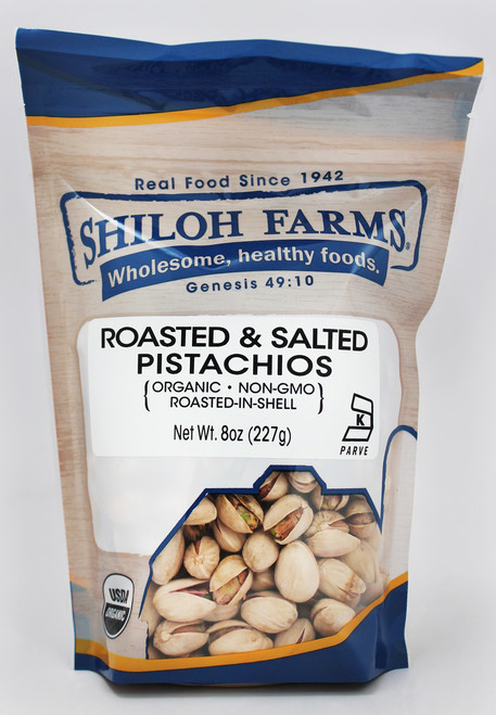 Shiloh Farms Roasted & Salted Pistachios, Organic
