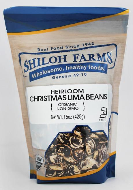 Heirloom Christmas Lima Beans, Organic