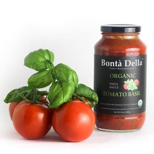 Bonta Della Tomato Basil Pasta Sauce Organic