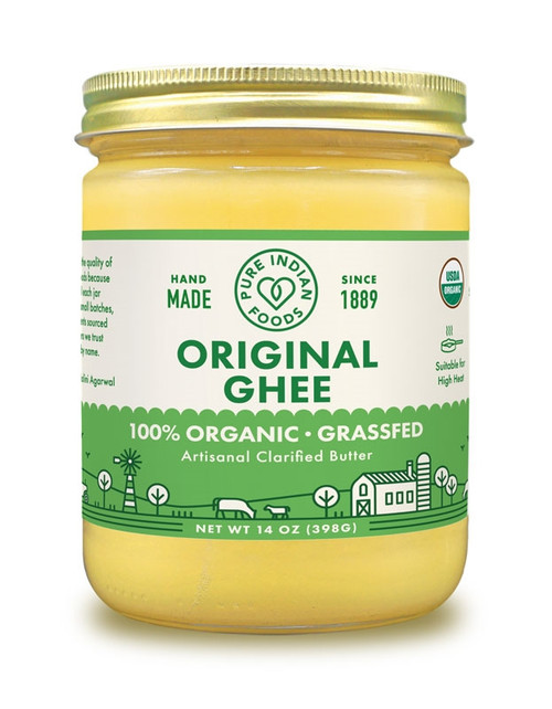 Pure Indian Foods Grassfed Ghee