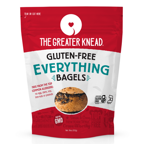 The Greater Knead Gluten-Free Everything Bagels (FROZEN)