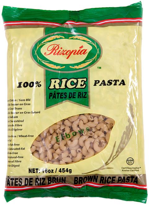 Rizopia Organic Brown Rice Elbows Pasta