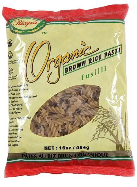 Rizopia Organic Brown Rice Fusilli Pasta