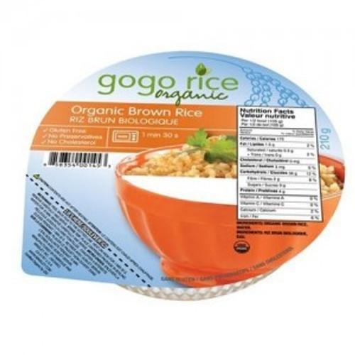 Gogo Rice Organic Brown Rice Bowl (Meal)