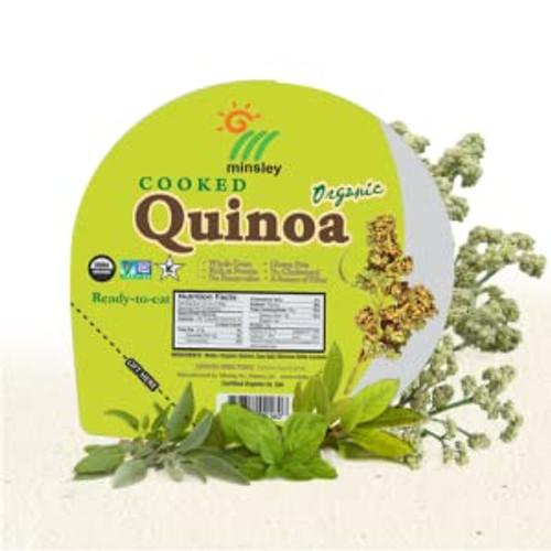 Gogo Rice Organic Cooked Quinoa Bowl
