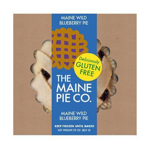 The Maine Pie Co. Gluten-Free Blueberry Pie, 8 inch (FROZEN)