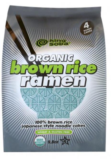 King Soba Brown Rice Ramen Noodles (4 Pack)