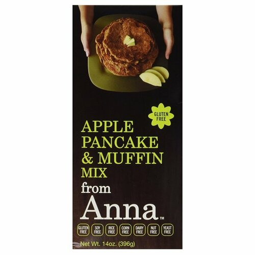 Breads From Anna Apple Gluten-Free Pancake & Muffin Mix