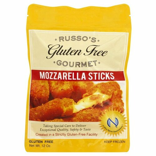 Russo's Gourmet Gluten-Free Mozzarella Sticks (FROZEN)