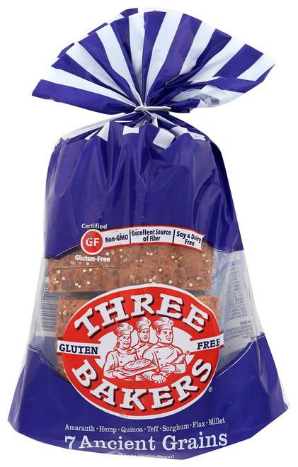 Three Bakers Gluten-Free 7 Ancient Grain Bread (FROZEN)