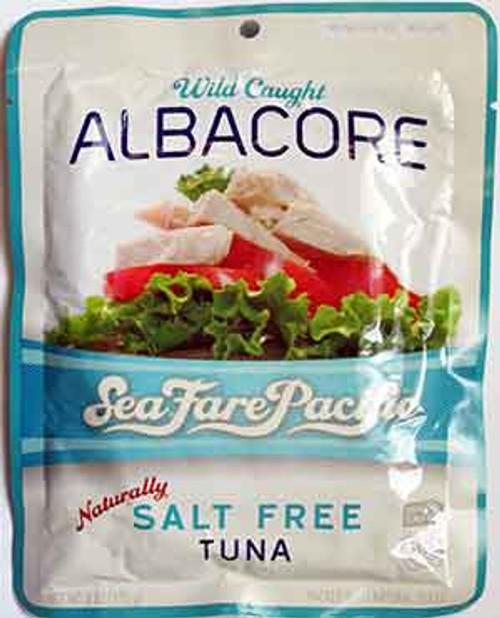 Seafare Pacific Gluten-Free Salt-Free Albacore Tuna