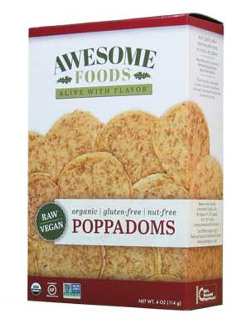 Awesome Foods Raw Poppadoms