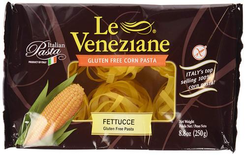 Le Veneziane Gluten-Free Fettucce (Tagliatelle) Corn Pasta