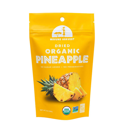 Mavuno Harvest Organic Dried Pineapple