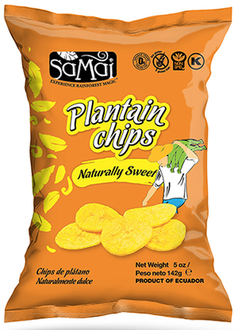 Samai Naturally Sweet Plantain Chips