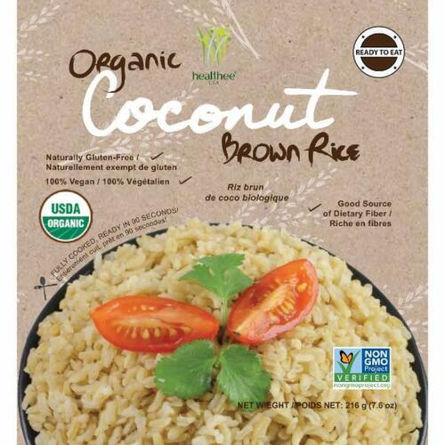 Healthee Coconut Brown Rice Bowl