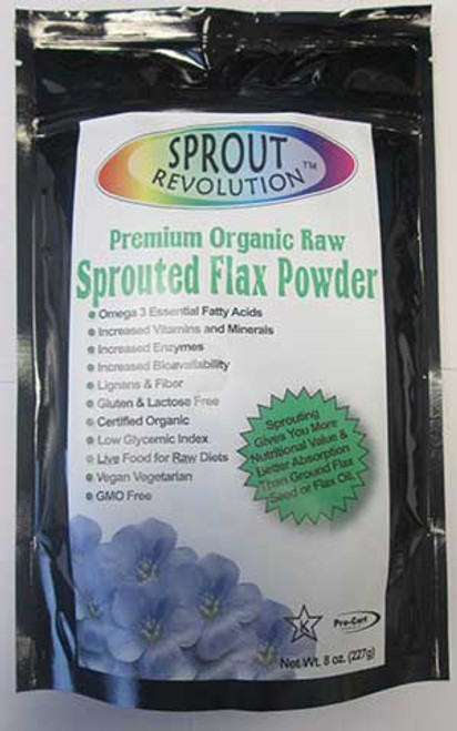 Sprout Revolution Sprouted Golden Flax Powder
