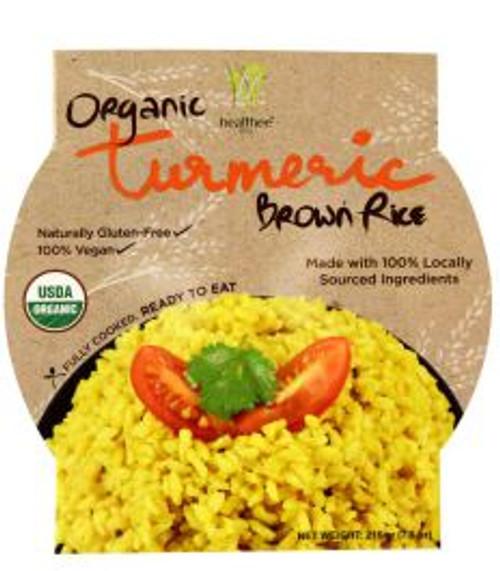 Healthee Organic Turmeric Brown Rice Bowl