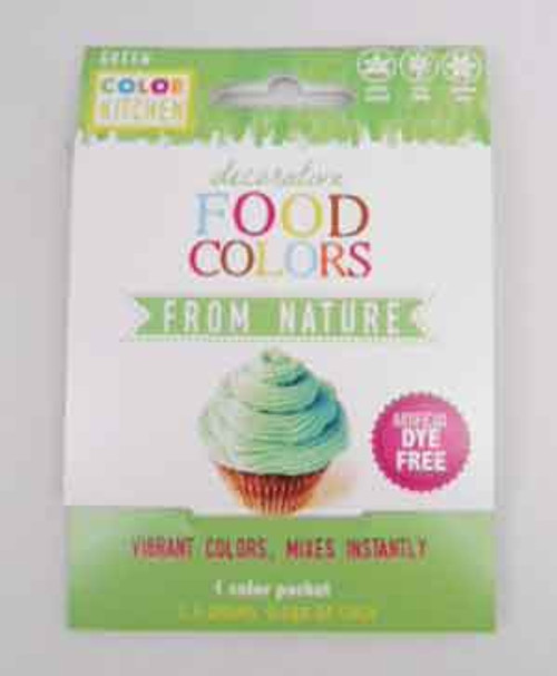 Color Kitchen Vegan Green Real Food Coloring