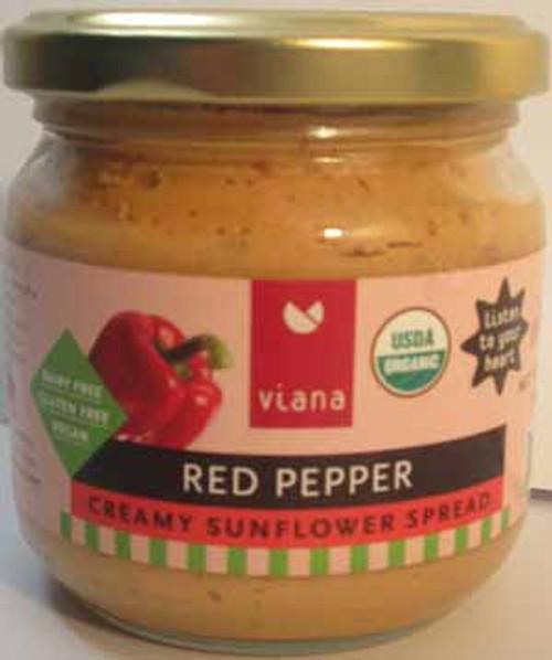 Viana Red Pepper Creamy Sunflower Spread