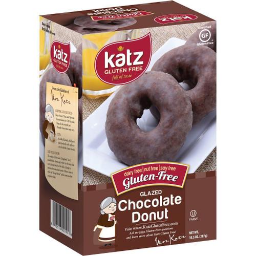 Katz Gluten Free Glazed Chocolate Donuts