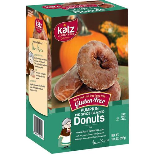 Katz Gluten Free Pumpkin Pie Spice Glazed Donuts