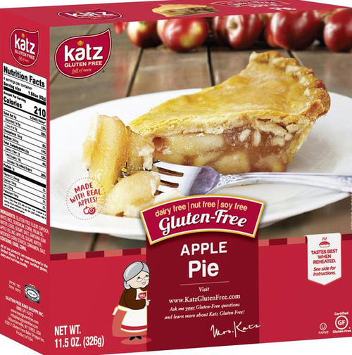 Katz Gluten Free Apple Pie, 6 inch