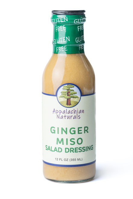 Appalachian Naturals Vegan Ginger Miso Salad Dressing