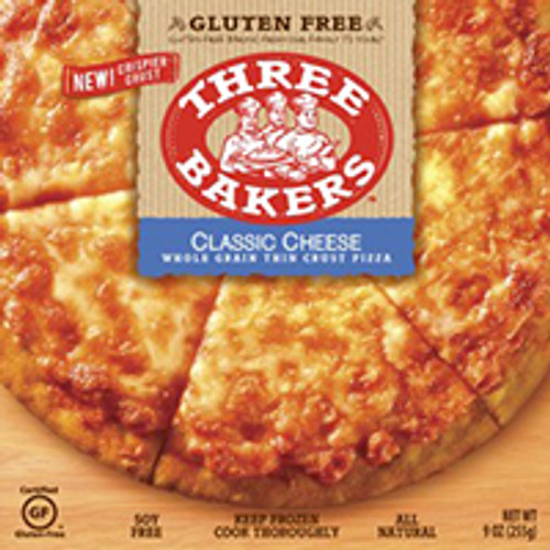 Three Bakers Classic Cheese Whole Grain Thin Crust Pizza