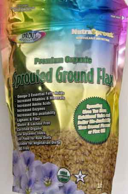Sprout Revolution Sprouted Ground Golden Flax