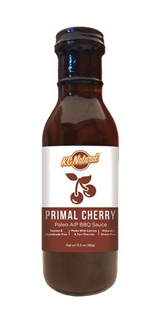 KC Natural Primal Cherry Paleo AIP Barbecue Sauce