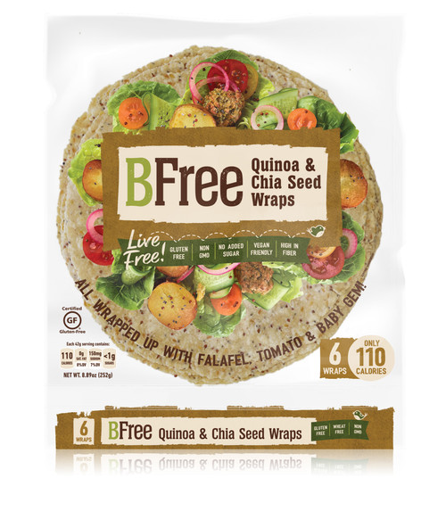 BFree Foods  Quinoa & Chia Wraps (6/pk)