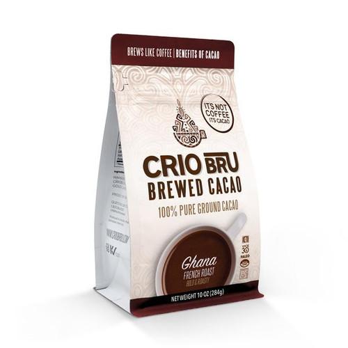 Crio Bru Ghana French Roast Brewed Cocoa