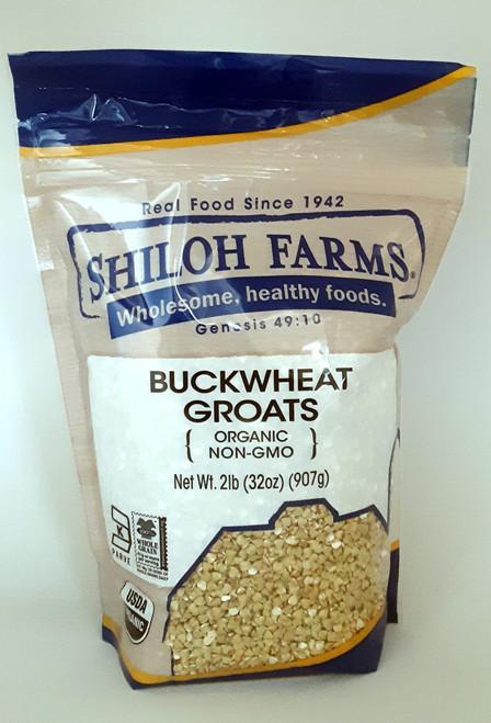 Shiloh Farms Buckwheat Groats, Raw