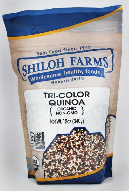 Shiloh Farms Organic Quinoa Grain, Tri-Color