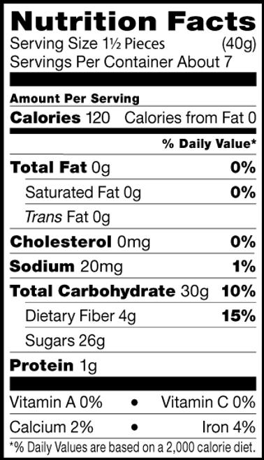 Shiloh Farms Gluten-Free Datelet Nut Roll