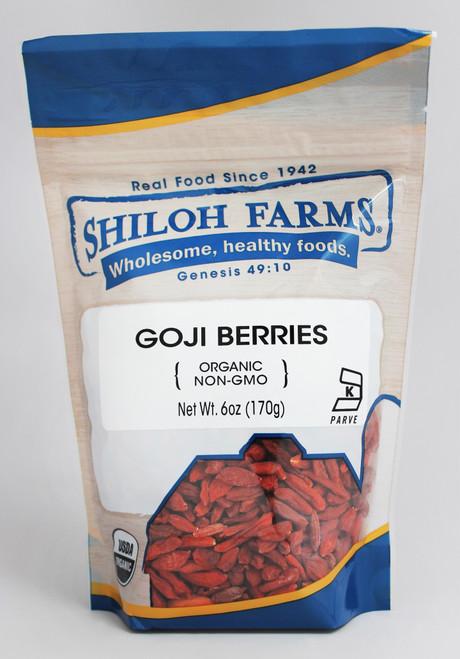 Shiloh Farms Organic Goji Berries, Dried Himalayan
