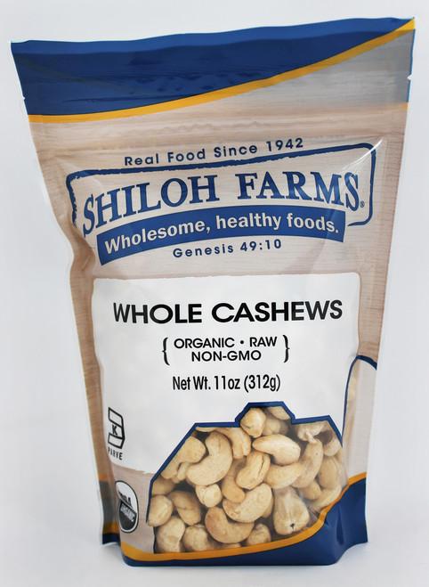 Shiloh Farms Cashews, Whole, Raw, Organic