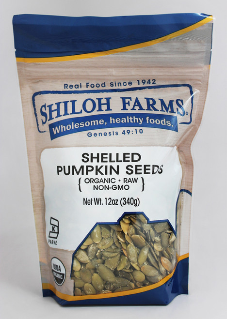 Shiloh Farms Organic  Pumpkin Seeds, Shelled