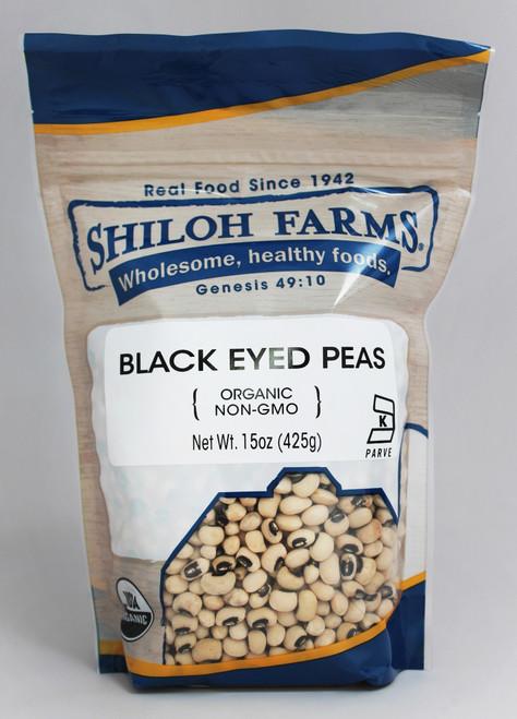 Shiloh Farms Organic Black Eyed Peas