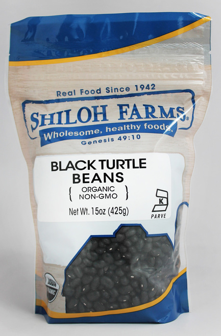 Shiloh Farms Organic Turtle Beans, Black