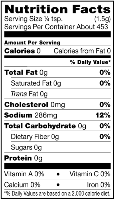 Shiloh Farms Gluten-Free Himalayan Pink Salt