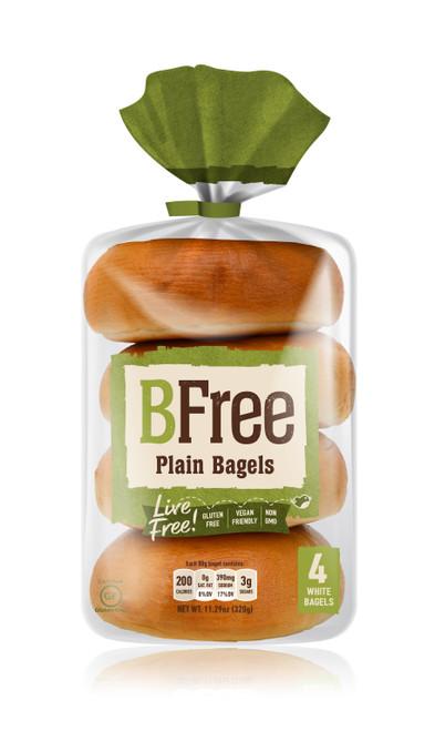 BFree Foods Plain Bagels FROZEN